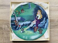 "Disney Land Sleeping Beauty Collectors Plate - ""Once Upon A Dream"" Limited"