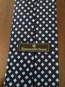 Ermenegildo Zegna Blue/Navy Tie