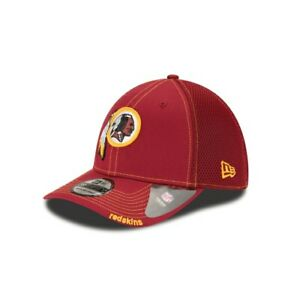 Washington Redskins NFL Neo 39THIRTY Stretch Fit Cap Hat Men's DC Retired Logo W