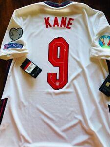 2020/21 Nike ENGLAND #9 KANE Vapor Match Home Player Jersey Large CD0585 100