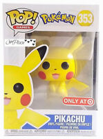 New Funko Pop Games Pokemon Pikachu #353 Target Exclusive New In Hand