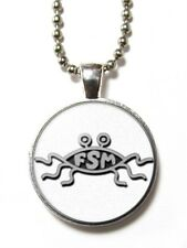 Magneclix magnetic pendant-Flying Spaghetti Monster