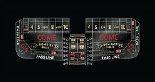 Craps Layout  8 foot 4 colors to choose from