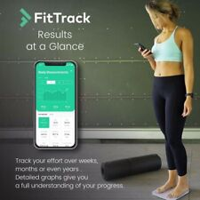 FitTrack Dara Smart BMI Digital Scale - Measure Weight and Body Fat & More