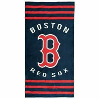 Northwest MLB Boston Red Sox Baseball Stripes Beach Towel 30''x 60'' NEW