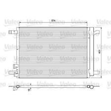VALEO 814375 Kondensator für Klimaanlage für VW