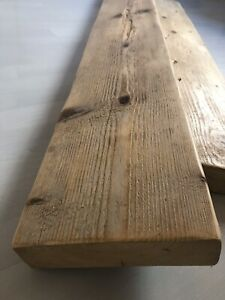Reclaimed Scaffold Boards Sanded & Waxed *choose your length and wax shade*