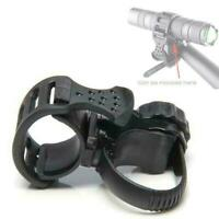 Stand Bicycle Bike Light Mount Holder Flashlight Led Lamp Clip Torch F6E1