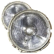 VW Golf Mk1 Caddy Transporter Front Headlamps Headlights Lamp Pair RHD