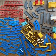 Big 90s TOMY Trackmaster Thomas The Tank Engine Train Track Building Bundle Blue