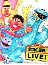 ORIGINAL SESAME STREET TV POSTER 1990 BY JOE MATHIEU - CHILDRENS ROOM