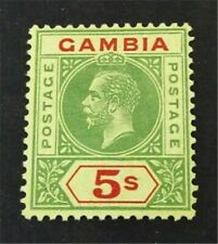 nystamps British Gambia Stamp # 86 Mint OG H $130