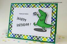 0d41abf4aa06 Heffy Doodle clear stamps   metal dies- HAPPY SNAPPY CROCS