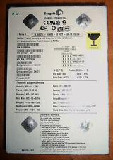 "Disco Duro IDE Seagate ST320014A  P/N:9W1021-302 20 GB 3 1/2"" IDE PATA 40 pines"
