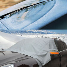 Car Front Windshield&Side Mirror Sun Snow Frost Ice Protector Tarp Flap CoverTOP