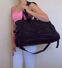 EUC Lululemon Destine For Greatness Bag Duffel Black