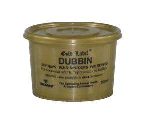 Gold Label Dubbin Leather Waterproof Brown 200g