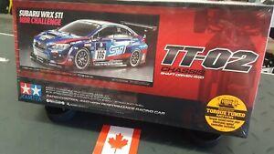 Tamiya 1/10 Subaru WRX STI 24Hour Nurburgring 4WD TT-02 Kit 58645