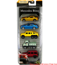 Matchbox Mercedes G Wagon, G Class AMG 6x6, CLS, SLR and Unimog U300 FHY44 1/64