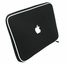 """Soft Sleeve Carry Bag Case Cover - Apple 13""""3 Macbook Pro or Air - Black"""