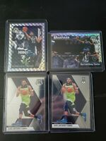 2019-20 Panini Mosaic Karl Anthony-Towns Silver Prizm Montage Base (4) Lot