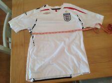 England Home shirt 2007/09 Large boys Umbro used condition