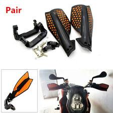 """2PCS Motorcycle ATV Hand Guard 22 mm 7/8"""" Handlebar Wind Deflector Protector Kit"""