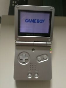 Nintendo Game Boy Advance SP Console - gris, avec housse