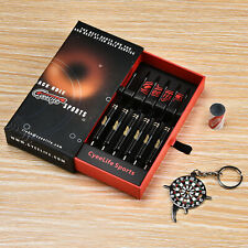 Professional Steel tip Darts 22g+Alu shafts+Sharpener+Tool+3D Flights CyeeLife