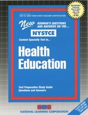 NEW Health Education CST New York State Teacher Certification Exams NYSTCE Test