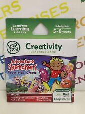 LeapFrog All LeapPad Leapster GS Explorer Age 5-8 Game - Adventure Sketchers