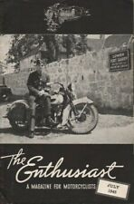 1945 July - The Enthusiast - Vintage Harley-Davidson Motorcycle Magazine