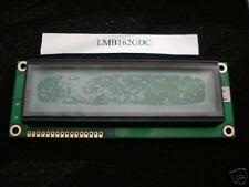LMB162GDC    LCD Module  16 x 2    Character    5 volts     Z903      New
