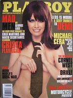 CRISTA FLANGAN  August 2010 PLAYBOY Magazine MICHAEL CERA  DEMI MOORE