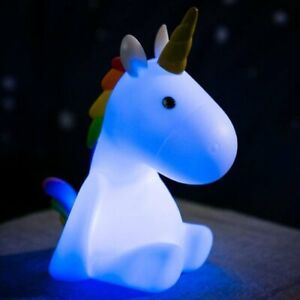 Rechargeable Childrens Night Light, Unicorn
