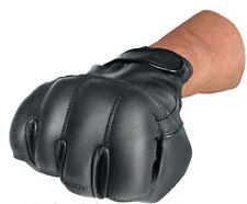 Quarzsand Handschuh Defender Leder mit Quarz Sand Polizei Security Handschuhe L