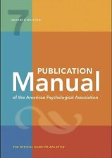 Publication Manual of the American Psychological Association-7th Ed,2020-Medicos
