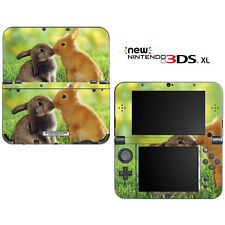 Honey Bunny Kisses for New Nintendo 3DS XL Skin Decal Cover