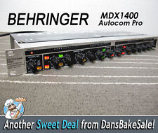 Behringer MDX1400 Autocom Pro Compressor / Limiter with Power Cord - Works!