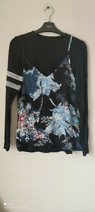 Next Top And Cami Floral Print 2 Pieces Size 18