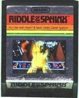 Riddle of the Sphinx - Atari 2600 Game Authentic