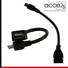 Câble OTG USB Host On The Go Pour MOTOROLA NEXUS 6