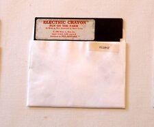 Electric Crayon Disk by Polarware for Apple IIe, IIc, IIGS