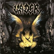 VADER - Litany LP - Clear Vinyl - Death Metal - SEALED new copy