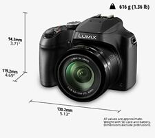 Panasonic Lumix FZ80 Digital Camera 4K Video Cam 60X Zoom w/ 3