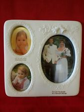 PORCELAIN MULTI WEDDING PICTURE PHOTO FRAME - BRAND NEW