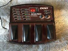 DOD Acoustec Guitar Preamp FX Processor Multi Effect Pedal