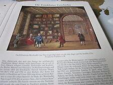 Archivio Francoforte a 4 storia 2032 Gabinetto vino commercianti Jean Noel Gogel 1776