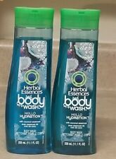 Lot of 2 Herbal Essence Hello Hydration Bodywash 11.1 Ounces!