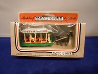 Lledo Models of Days Gone Horse Drawn Westminster Tram Trolley Diecast